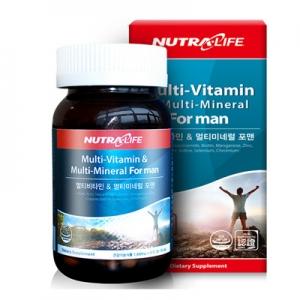 [뉴트라라이프] 종합비타민 멀티비타민&미네럴 포맨(90정,90일분)